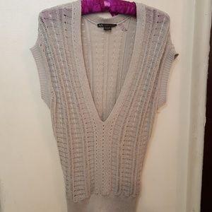 AX Armani Exchange knit sleeveless top